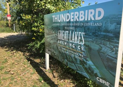 Thunderbird starting the discussion about remaking land at the heart of Cleveland